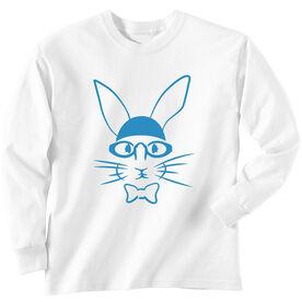 SwimTshirt Long Sleeve Hopster Swim Bunny
