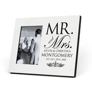 Personalized Photo Frame - Our Wedding Day Cheers