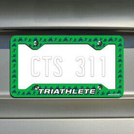 Triathlete TRI License Plate Holder