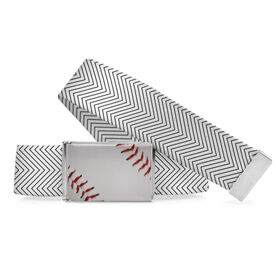 Baseball Lifestyle Belt Baseball Chevron