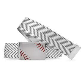 Baseball Lifestyle Belt Baseball Chevron