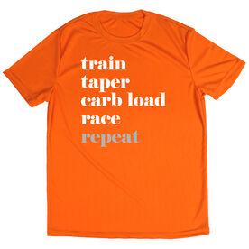Men's Running Short Sleeve Tech Tee Run Mantra - Repeat