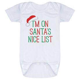 Baby One-Piece - I'm On Santa's Nice List