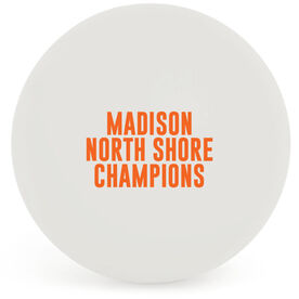 Guys Lacrosse Ball - Custom Text