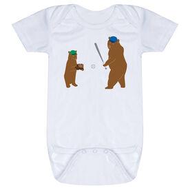 Baseball Baby One-Piece - Bears