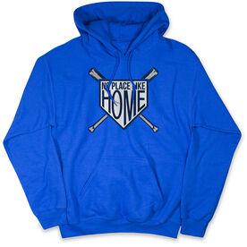Baseball Hooded Sweatshirt - No Place Like Home