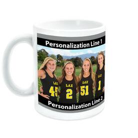 Lacrosse Coffee Mug Custom Photo with Color