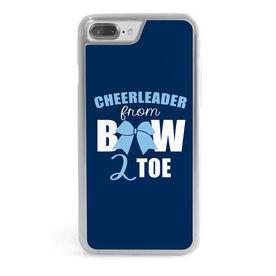Cheerleading iPhone® Case - Cheerleader From Bow 2 Toe