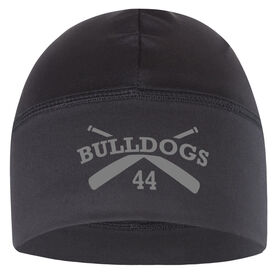 Beanie Performance Hat - Baseball Team Name With Number