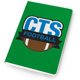 Football Notebook Custom Team Logo