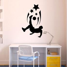 Soccer Spirit Guy ChalkTalkGraphix Wall Decal
