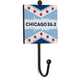 Running Medal Hook - Chicago 26.2