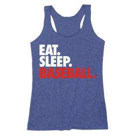 Baseball Women's Everyday Tank Top - Eat. Sleep. Baseball