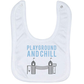 Baby Bib - Playground and Chill