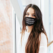 Personalized Face Mask - Personalized Custom Message