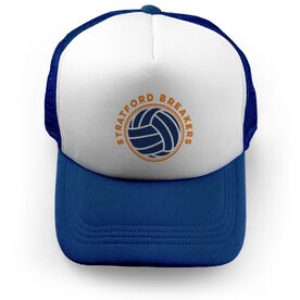 Volleyball Trucker Hat Team Name