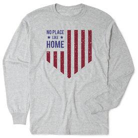Softball Tshirt Long Sleeve - No Place Like Home