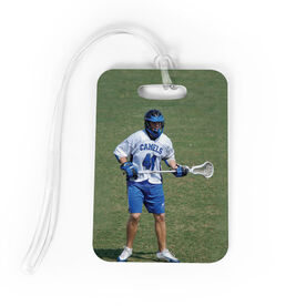 Lacrosse Bag/Luggage Tag - Custom Photo