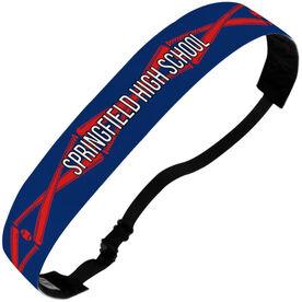 Baseball Julibands No-Slip Headbands - Personalized Crossed Bats Stripe Pattern