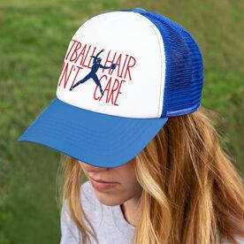 Softball Trucker Hat - Softball Hair Don't Care (Pitcher)