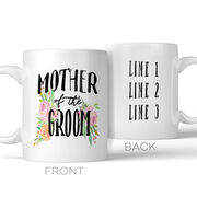 Mother of the Groom Personalized Coffee Mug