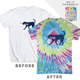 DIY Girls Lacrosse Lula - White Tee Ready for Tie-Dye