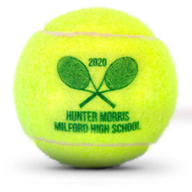 Personalized Tennis Ball - Team Ball