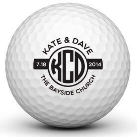 Wedding Ball Golf Ball