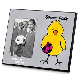 Soccer Photo Frame Soccer Chick