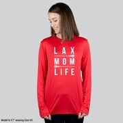 Girls Lacrosse Long Sleeve Performance Tee - Lax Mom Life