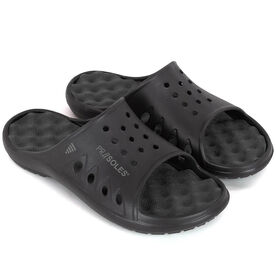PR SOLES® Recovery Sandals - Black