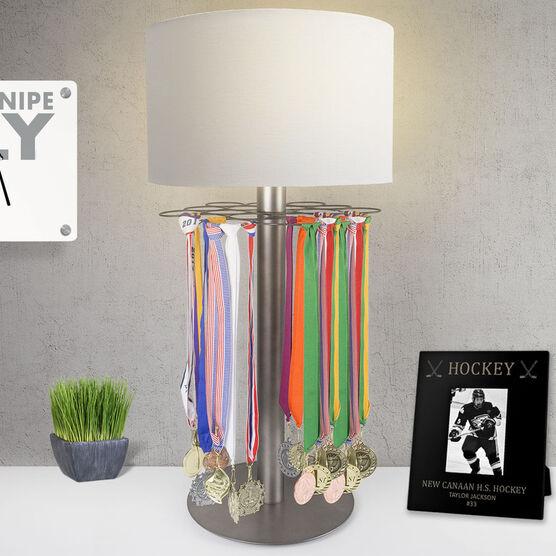 Hockey Tabletop Medal Display Lamp