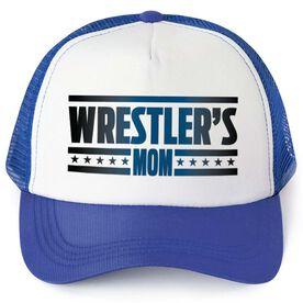 Wrestling Mom Love hat customizable wrestling hat