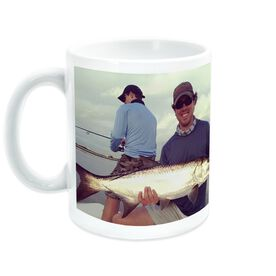 Fly Fishing Coffee Mug Custom Photo