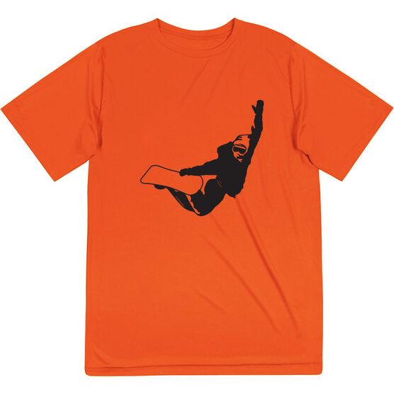 Snowboarding Short Sleeve Performance Tee - High Altitude