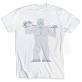 Guys Lacrosse Vintage T-Shirt - You Yeti To Lax