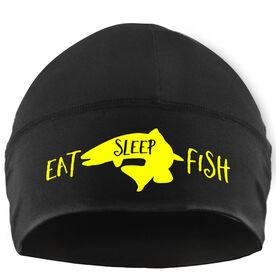 Beanie Performance Hat - Eat Sleep Fish