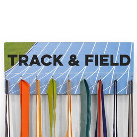 Hooked On Medals Hanger Choose Your Track Background