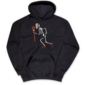 Guys Lacrosse Hooded Sweatshirt - Never Stop Laxing