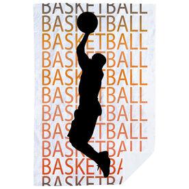 Basketball Premium Blanket - Basketball Fade