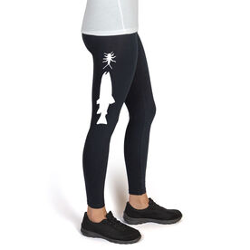 Fly Fishing High Print Leggings Stonefly Nymph with Trout