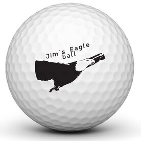 Personalized Eagle Ball Golf Ball
