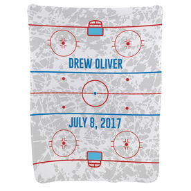 Hockey Baby Blanket - Rink