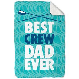 Crew Sherpa Fleece Blanket Best Dad Ever