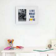 Softball Photo Frame - Live What You Love