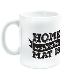 Wrestling Coffee Mug Home is Where The Mat Is