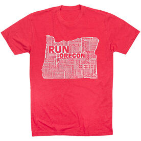 Running Short Sleeve T-Shirt - Oregon State Runner