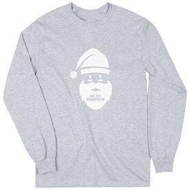 Baseball Long Sleeve Tee - Ho Ho Homerun