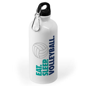 Volleyball 20 oz. Stainless Steel Water Bottle - Eat. Sleep. Volleyball.