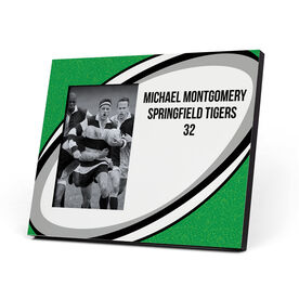 Rugby Photo Frame - Giant Rugby Ball